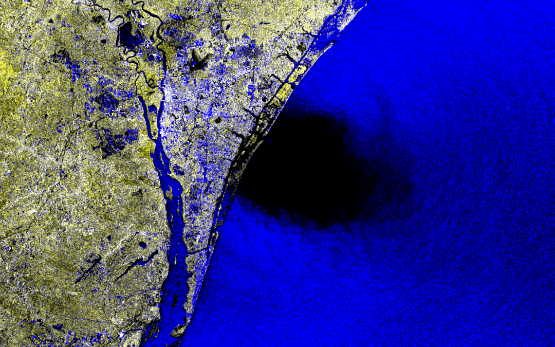 Earth Big Data Uses Open Satellite Data to Reveal the Extent and Impact of Hurricane Florence